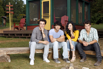 Demi camp rock 2 official photoshot!