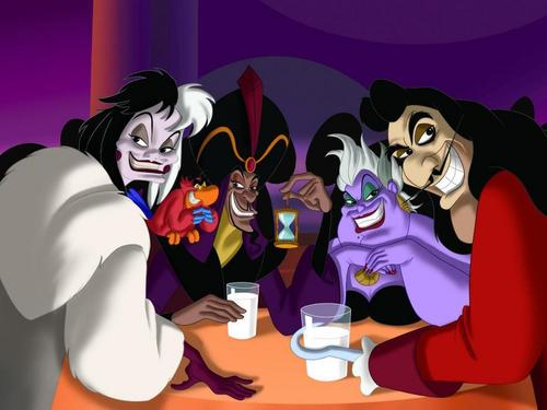 Disney Villans Crossover