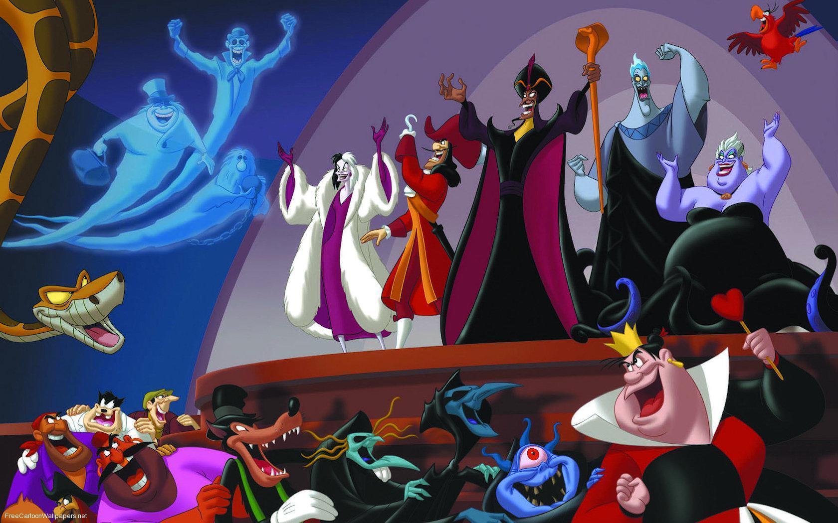 Disney Villans Crossover