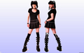 Double Abby (NCIS Pauley Perrette) - ncis wallpaper