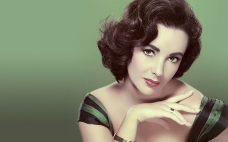 Classic Movies wallpaper with a portrait called Elizabeth Taylor 1932 - 2011
