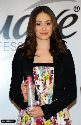 "Emmy Rossum Asks New Yorkers To Take The ""Suave Challenge"""