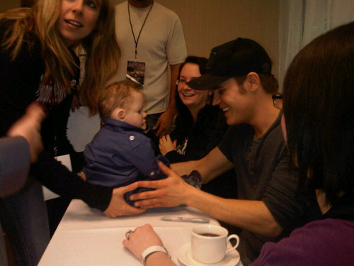 EyeCon - Paul Wesley and... what was he asked for? (Read description)