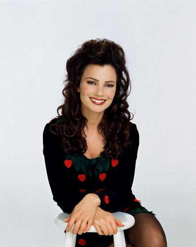 Fran Drescher karatasi la kupamba ukuta probably with a chemise, a cocktail dress, and a chemise called Fran Drescher