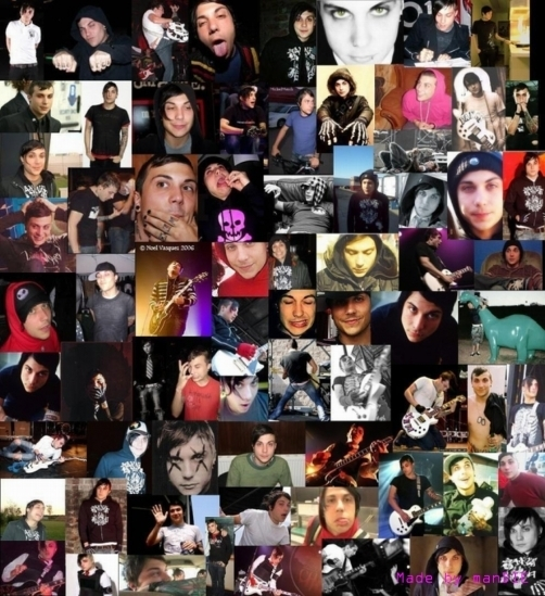Frank Iero collage