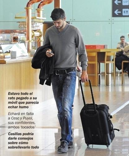Gerard Pique writes SMS Shakira