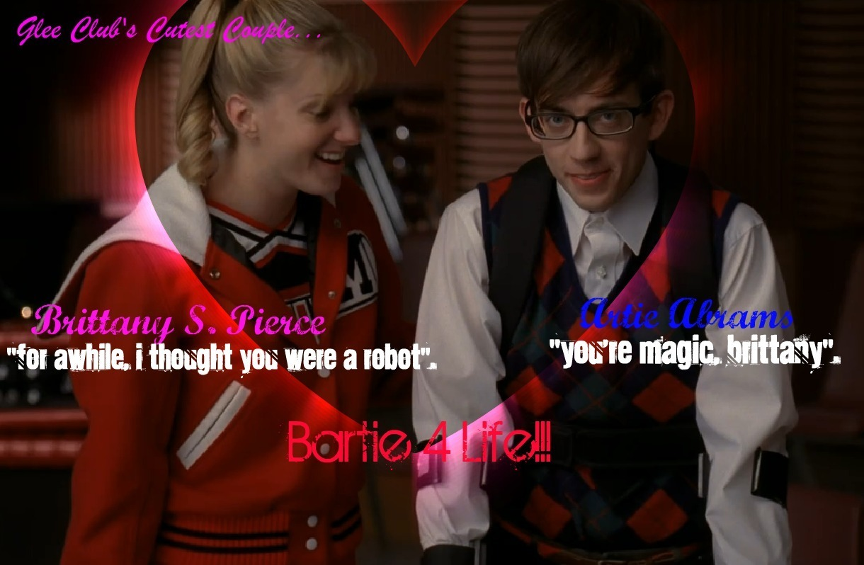 Glee Brittany and Artie
