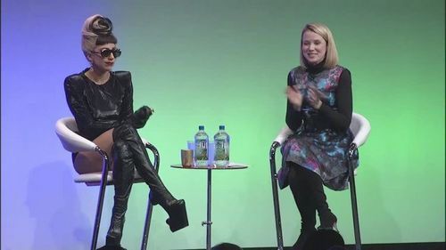 lady gaga wallpaper possibly with a concert, a vacuum, and a aspirador, hoover titled google Goes Gaga Screencaps