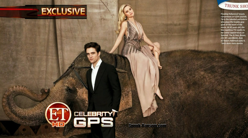 """HQ Screencaps of Rob and Reese's Entertainment Weekly """"Water for Elephants"""" Spread and Cover"""