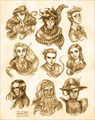 Harry Potter: Portraits - percy-jackson-vs-harry-potter fan art