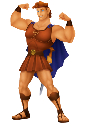 Hercules in Kingdom Hearts