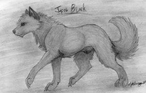 Jake in волк form
