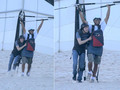 Jesse hang gliding in Brazil