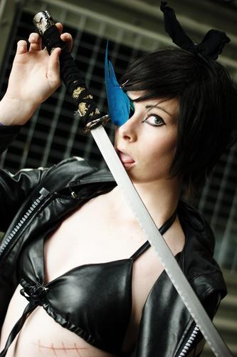 Kagamine Rin Black Rock Shooter