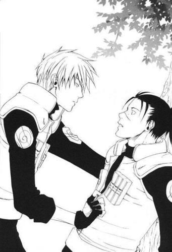 Kakashi and Iruka