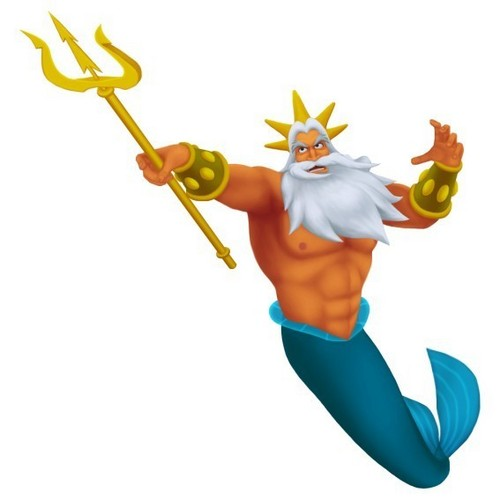 King Triton in Kingdom Hearts