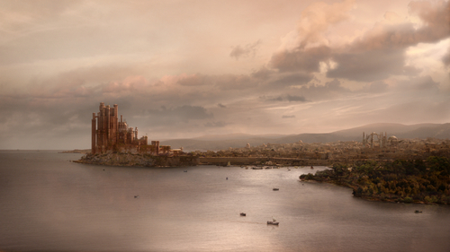 Kings Landing - game-of-thrones Wallpaper