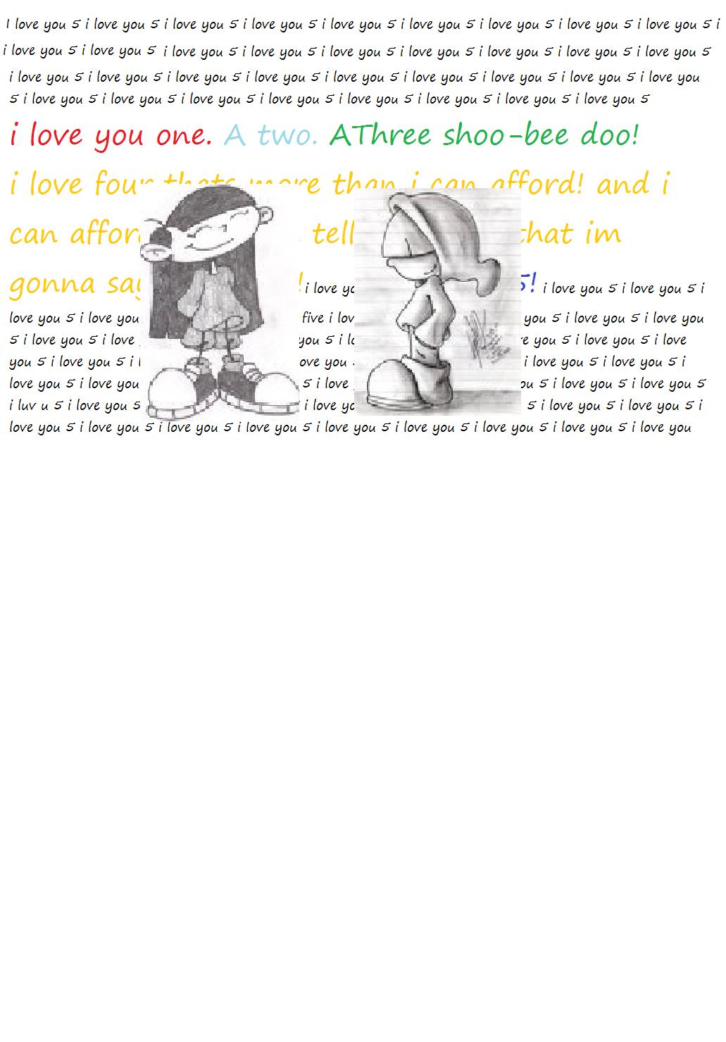 KukixWally  i love you 5