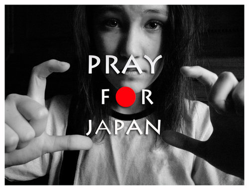 belles images fond d'écran called Let's Pray For Japon