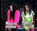 Marilyn and Twiggy - marilyn-manson screencap