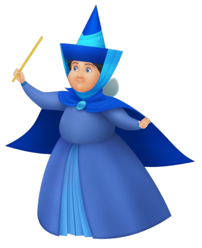 Merryweather in Kingdom Hearts