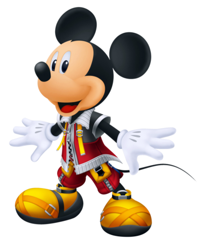 Mickey souris in Kingdom Hearts