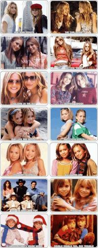 Mary-Kate & Ashley Olsen karatasi la kupamba ukuta titled sinema