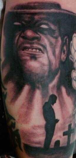 My Undertaker tattoo