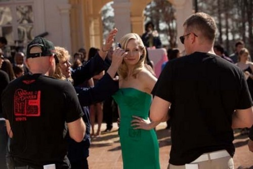 New HQ TVD बी टी एस Stills of Candice as Caroline (1x19: Miss Mystic Falls)!