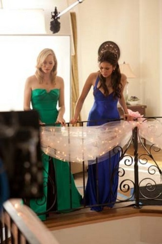 New HQ TVD 防弹少年团 Stills of Candice as Caroline (1x19: Miss Mystic Falls)!