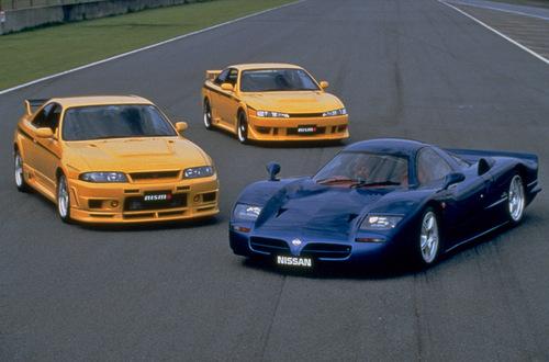 Nissan R390GT, 200SX, R33 GT-R