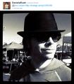 ON SET-Eric Olsen- Twitter pic