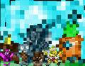Pixel SpongeBob