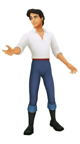Prince Eric in Kingdom Hearts
