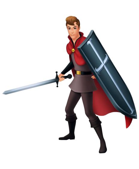 Prince Phillip in Kingdom Hearts
