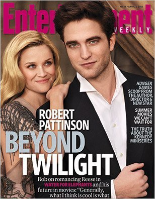 Reese Witherspoon, Robert Pattinson -- and Tai -- from EW