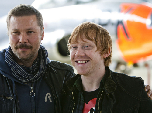 Rupert with a Actor from Norway Stig Henrik Hoff