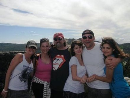 Sel with family