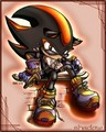 Shadow's cotsume - sonic-and-friends photo