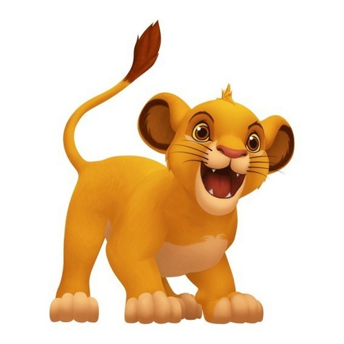 Simba in Kingdom Hearts