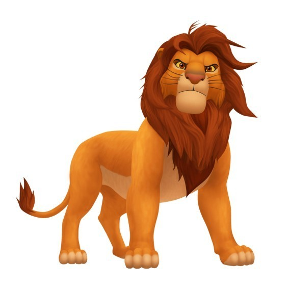Walt Disney Characters images Simba in Kingdom Hearts ...