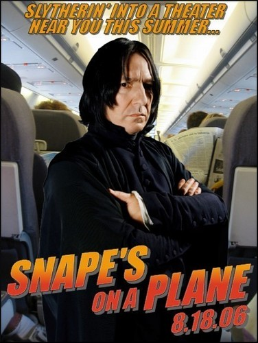 Snape's on a Plane!