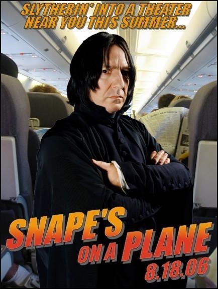 Snape's on a Plane!