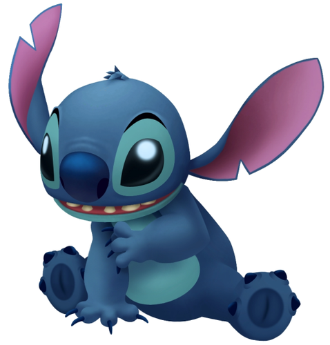 Walt Disney Characters karatasi la kupamba ukuta called Stitch in Kingdom Hearts
