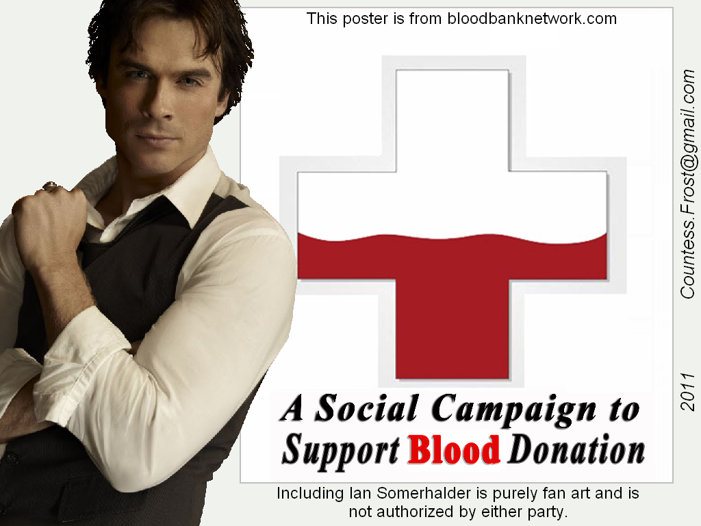 Vampire Diaries Fernsehserie Bilder Support Blood Donation Hd