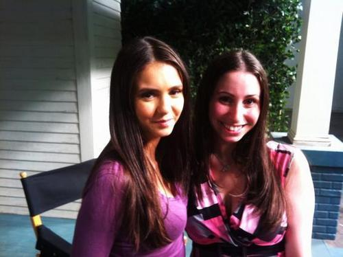 TVD Cast Fanpics with TV Fanatic writer Gabrielle Compolongo