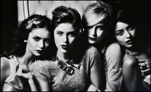 TVD Cast Girls