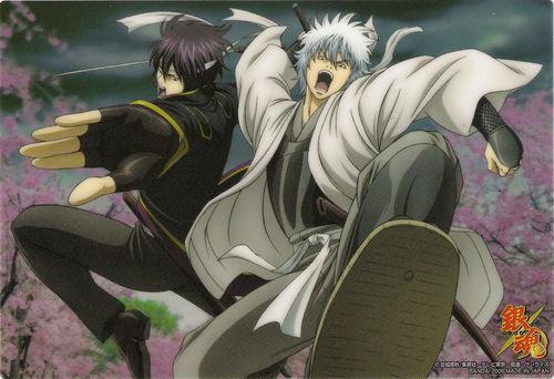 Takasugi and Gintoki