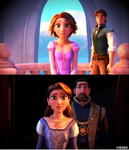 Tangled - Reunited - disney-princess Photo