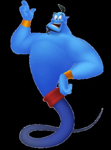The Genie in Kingdom Hearts